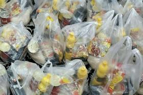 پاکدشت |  یک هزار و 100 سبد غذایی بین مددجویان بهزیستی شهرستان پاکدشت توزیع شد