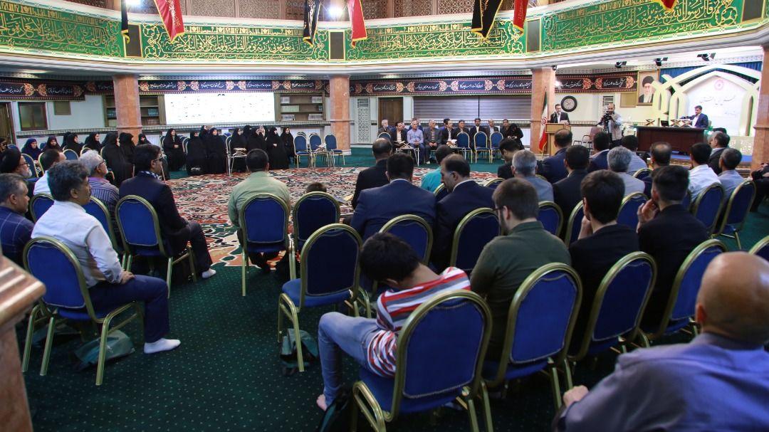 گزارش تصویری- محفل انس با قرآن جامعه هدف بهزیستی در حسینیه جماران