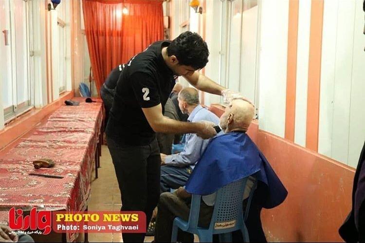 گزارش تصویری- کار خیر گروهی از جوانان گیلانی در آستانه عید فطر