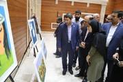 بازدید رئیس سازمان بهزیستی کشور از نمایشگاه نقاشی معلولان توانیاب توانمند استان مازندران