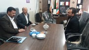 جلسه رئیس اداره بهزیستی شهرستان میامی با خیرین مسکن ساز شهری استان سمنان