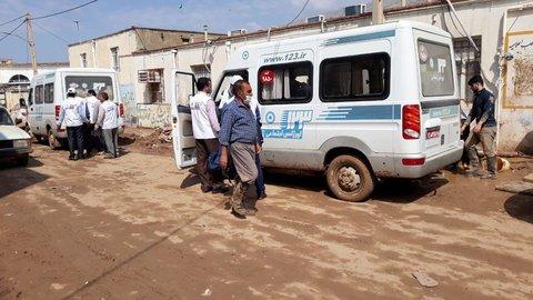 لرستان   اعزام 17 خودرو گشت اورژانس اجتماعی به مناطق سیل زده