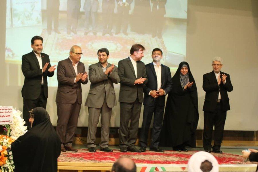 مراسم تودیع و معارفه مدیران کل سابق و جدید بهزیستی استان گیلان با حضور رئیس این سازمان برگزار شد