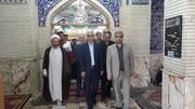 استان سمنان  حضور در گلزار شهدای شهرستان سمنان