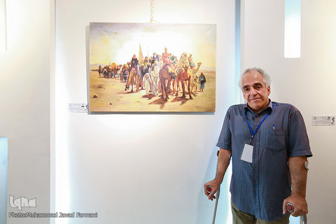 تهران| پاکدشت| برگزاری نمایشگاه عکس با موضوع اعتیاد در میدان اصلی شهر پاکدشت