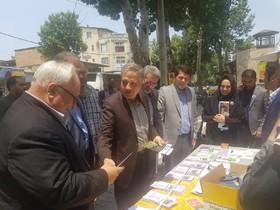 بازدید معاون مرکز پیشگیری و درمان اعتیاد بهزیستی کشور از کمپین «نه به مصرف ماده مخدر گل» در گلستان