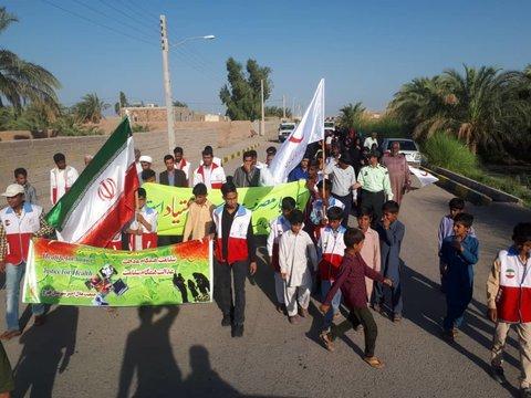 برگزاری همایش پیاده روی و دوره آموزشی پیشگیری از اعتیاد در روستای فهرج