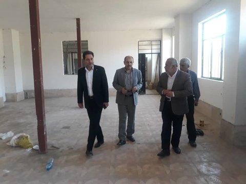 گیلان | بازدید دکتر حسین نحوی نژاد از ملک وقف شده مرحوم حاج نوروز واله سلیماندارابی