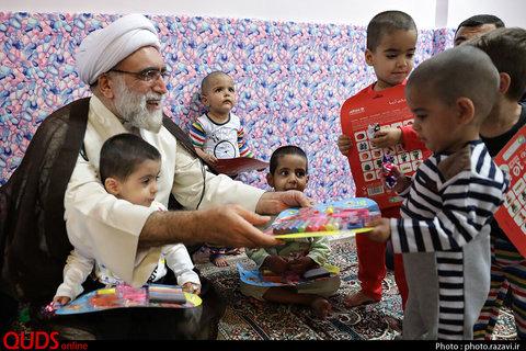 خراسان رضوی | بازدید تولیت آستان قدس رضوی از شیرخوارگاه علی اصغر  از نگاه تصویر