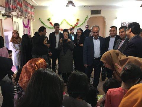 تهران| ملارد |برگزاری جشن روز دختر درخانه کوچک دخترانه نیایش مهر در ملارد
