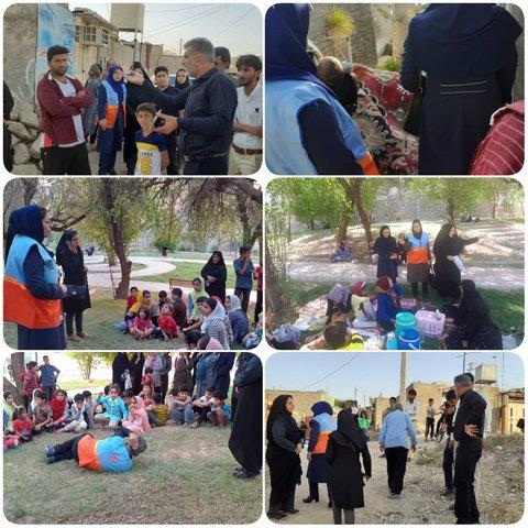 خوزستان حضور تیم های محب بهزیستی خوزستان در مناطق زلزله زده مسجدسلیمان
