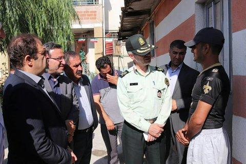آذر.غربی بازدید از کمپ