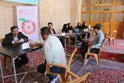 قزوین | برپایی میز خدمت بهزیستی قزوین در حاشیه نماز جمعه