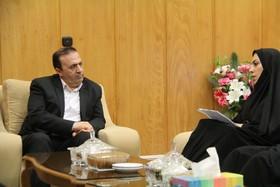 دیدار صمیمی مدیر کل و کارکنان بهزیستی ایلام با معاون سیاسی استاندار