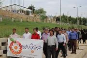 استان کهگیلویه و بویراحمد | برگزاری  همایش پیاده روی کارکنان سازمان بهزیستی استان