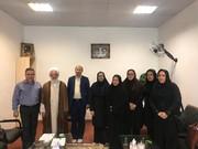 البرز | فردیس | رئیس و کارکنان بهزیستی فردیس با امام جمعه این شهرستان دیدار کردند