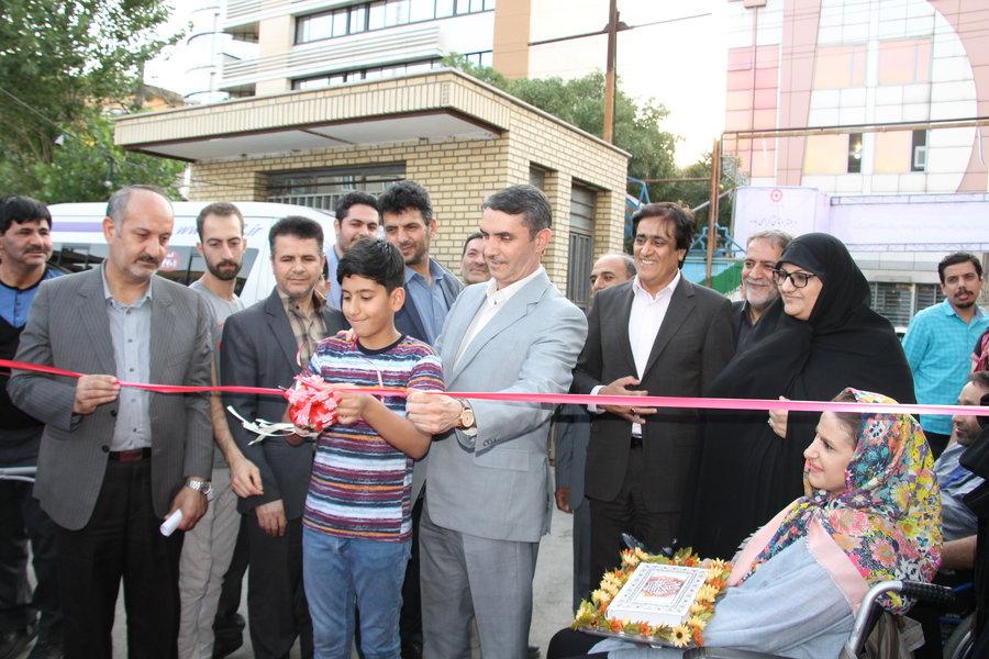 مرکزی  ا نمایشگاه توانمندیهای مددجویان بهزیستی در اراک افتتاح شد