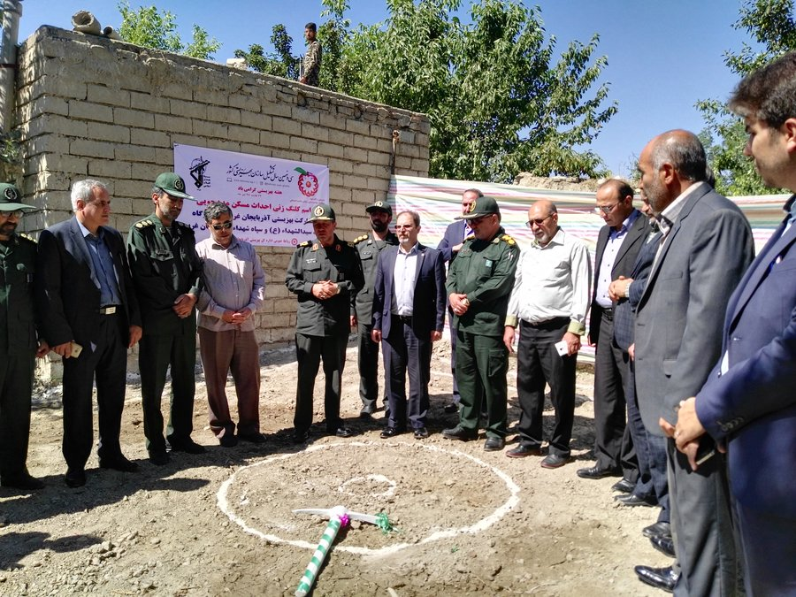آذربایجانغربی| کلنگ زنی ۹۷۰ واحد مسکونی مددجویی بهزیستی آذربایجان غربی