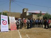 مرکزی ا مراسم کلنگ زنی و آغاز عملیات ساخت 6 واحد مسکونی