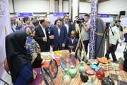 مازندران| بازدید دکتر قبادیدانا از نمایشگاه توانمندیهای جامعه هدف بهزیستی مازندران در ساری