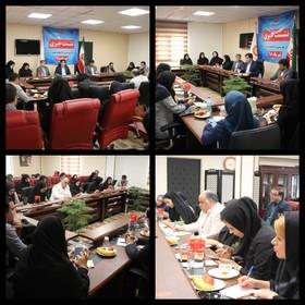 البرز| نشست خبری مدیرکل بهزیستی با اصحاب رسانه برگزار شد