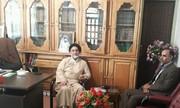 همدان |اسد اباد |دیدار پرسنل بهزیستی اسدآباد با امام جمعه شهرستان