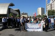 آذربایجان غربی| برگزاری مسابقه ویلچر رانی و پیاده روی خانواده بزرگ بهزیستی