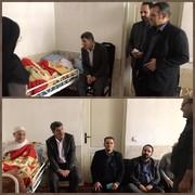 البرز | نظرآباد | دیدار با پیرترین مددجوی بهزیستی البرزی