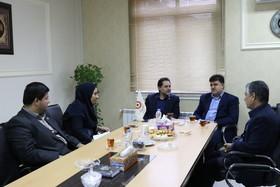 گیلان | نشست دکتر حسین نحوی نژاد با مدیرکل ثبت احوال گیلان