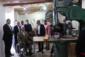 گیلان | بازدید از طرح اشتغالزایی تازه افتتاح شده مرکز بهبودی اقامتی میان مدت آرامش رهایی در سنگر
