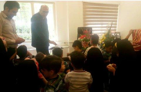 البرز | کرج | معاونت اجتماعی بهزیستی شهرستان کرج میزبان کودکان مراکز بود .