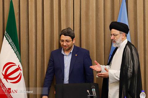 گزارش تصویری  دیدار رییس و مدیران سازمان بهزیستی کشور با رییس قوه قضاییه