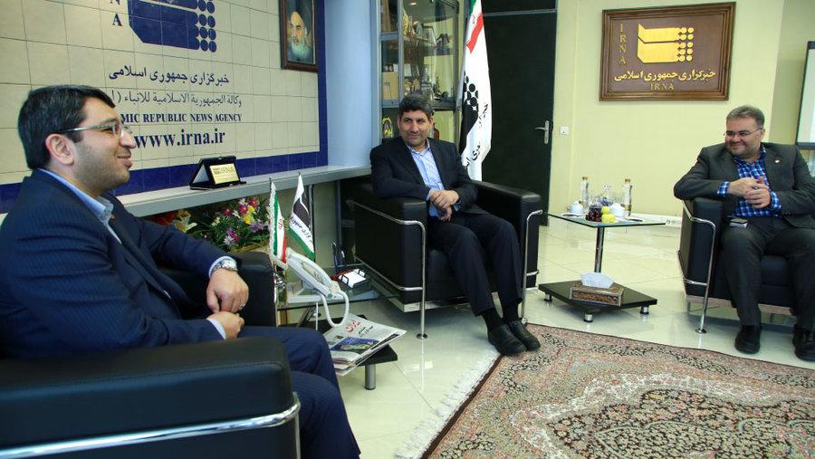 گزارش تصویری/ بازدید رئیس سازمان بهزیستی کشور از خبرگزاری ایرنا و دیدار با مدیرعامل این خبرگزاری