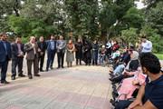 مرکزی ا به مناسبت هفته بهزیستی مسابقه ویلچررانی در اراک برگزار 'گردید