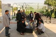 همدان |غبار روبی گلزار شهدا، تجدید میثاق با شهداء و تجلیل از ایثارگران