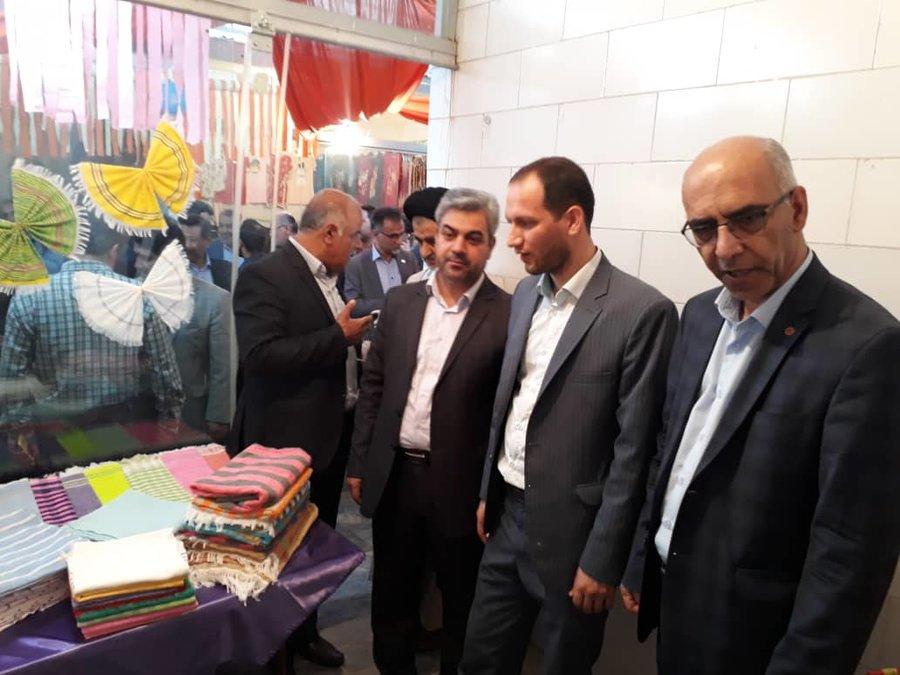 استان سمنان ا   افتتاح نمایشگاه توانمند سازی جامعه هدف در شهرستان دامغان