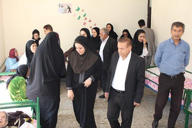 استان کهگیلویه و بویراحمد | بازدید از خانه بزرگان به مناسبت هفته بهزیستی
