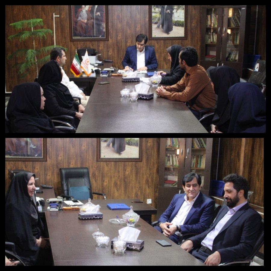 البرز | دیدار مدیرکل بهزیستی استان با همکاران بهزیستی اشتهارد
