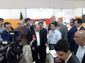 گزارش تصویری ا بازدید وزیر تعاون، کار و رفاه اجتماعی از غرفه سازمان بهزیستی در نمایشگاه الکامپ