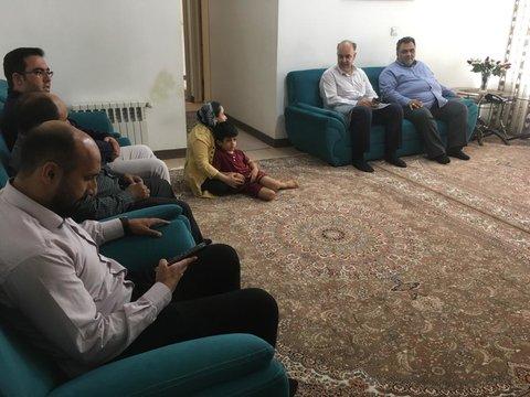 تهران| پاکدشت |دیدار معاون فرماندار با جامعه هدف بهزیستی شهرستان پاکدشت