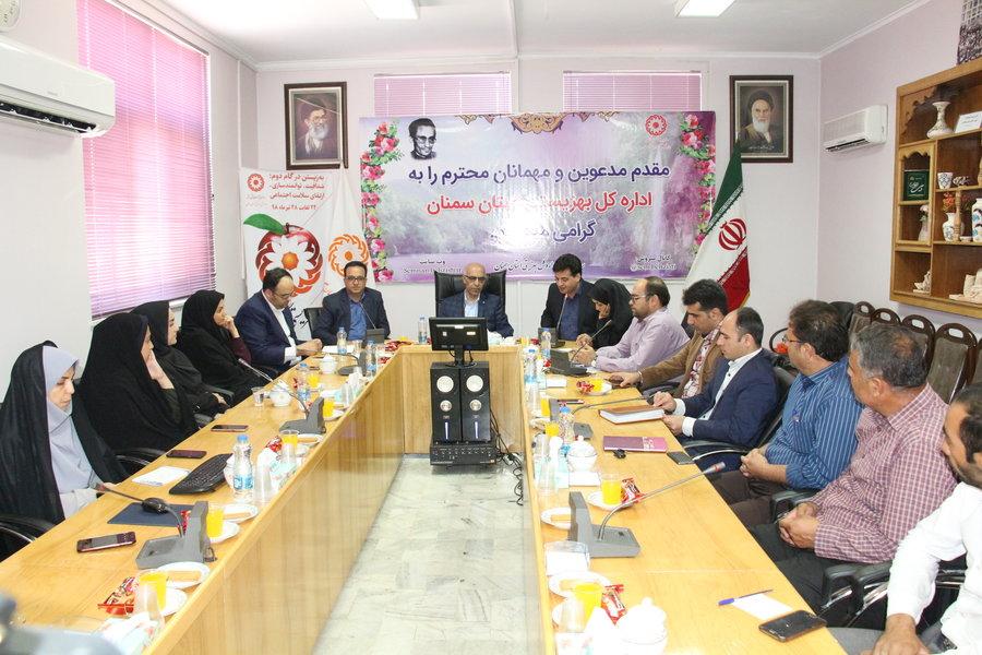 استان سمنان ا  همایش روابط عمومی شهرستانهای تابعه