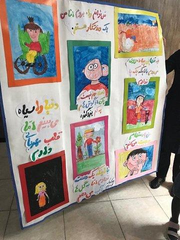 تهران  شمیرانات  دیدار فرزندان مهدهای کودک با مدیر بهزیستی شمیرانات