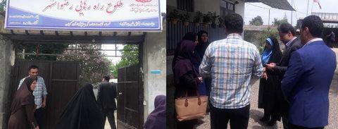 گیلان | بازدید دکتر حسین نحوی نژاد از کمپ ترک اعتیاد در شهرستان رضوانشهر