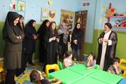 تهران  ری  مدیر ری از طرح کتاب خوانی مهدهای کودک بازدید کرد