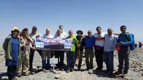 گزارش تصویری/ صعود تیم کوهنوردی سازمان بهزیستی کشور به قله شاهانکوه اصفهان