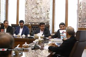 گزارش تصویری ا دیدار رئیس و معاونان سازمان بهزیستی کشور با رئیس مجلس شورای اسلامی