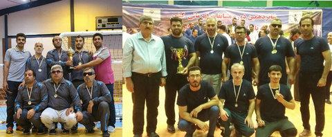 قهرمانی و نائب قهرمانی ورزشکاران گیلانی