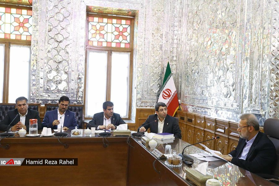 مشروح دیدار رئیس و معاونان سازمان بهزیستی کشور با رئیس مجلس شورای اسلامی