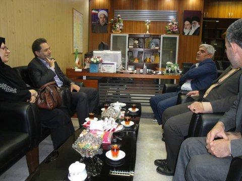 گیلان | نشست دکتر حسین نحوی نژاد با فرماندار سیاهکل در جهت رفع مشکلات توانخواهان