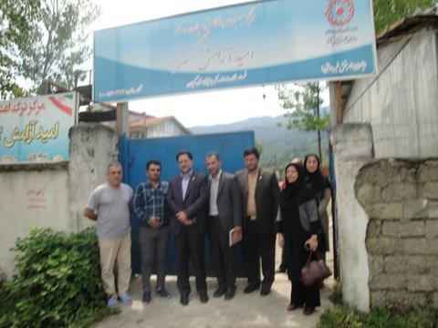 گیلان | بازدید دکتر حسین نحوی نژاد از کمپ ترک اعتیاد در شهرستان سیاهکل